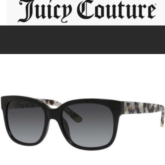 🎉HP🎉🆕NWT Juicy Couture BlackTortoise sunglasses